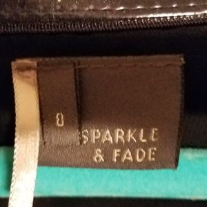 Sparkle & Fade Dresses - Sparkle and Fade Strapless Mini Dress with Pockets